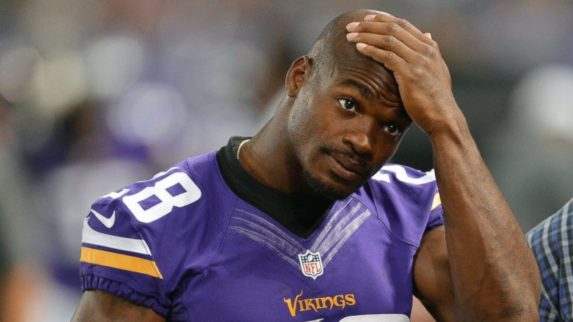 You Either Walk Away a Hero or You Play Long Enough to be Washed Up. A Ballad to Adrian Peterson