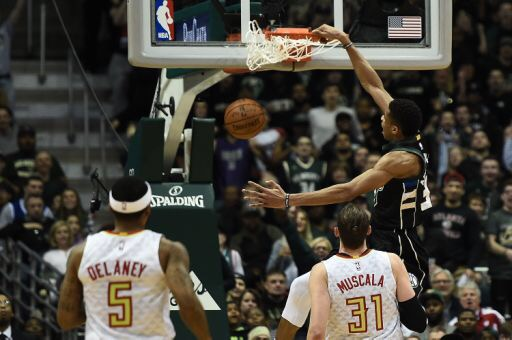 Bucks Beat Hawks 100-97 to Move in to a Tie for the 5th Seed in the East