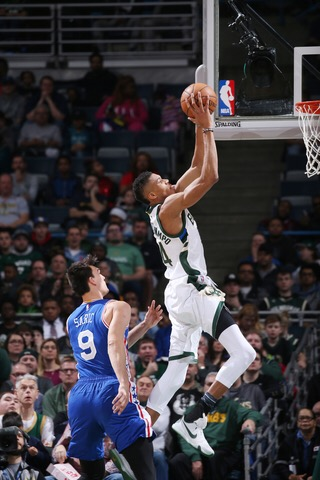 It Wasn't Pretty but the Bucks Clinched a Playoff Spot with a 90-82 Win Over the 76ers