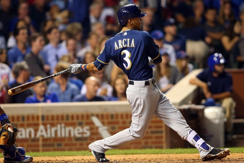 Brewers Score Twenty Runs in Last Two Games as Rookie Arcia Starts to Get Hot