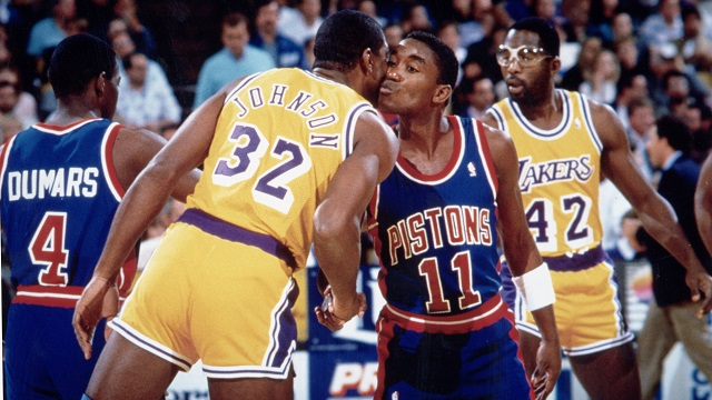 Los Angeles Lakers v Detroit Pistons